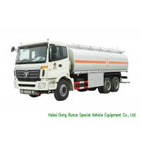 Quality FOTON 6x4 Refueling Diesel Fuel Transfer Tank Truck 23CBM Capacity High Stable for sale