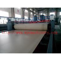 Quality thick solid wpc foamed door board making machine , ticker door board machinery , wpc door board line for sale