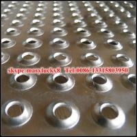 Quality Mild steel perforated metal china supplier/Perforated steel sheet for sale