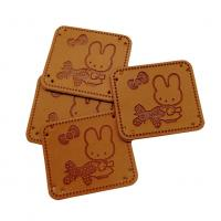 Quality custom leather label for bags pants Shoes hats, Jeans  home textile toys Gifts for sale