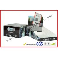 Buy cheap Foldable Rectangle Custom Cardboard Display Box , C2s Paper Packaging Box product