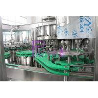 Quality 5Kw PET Bottle Flavor Juice Production Line 4 in 1 Liquid Filling Machinery for sale