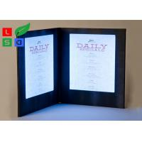 Quality Customized Made LED Shop Display Stain Resistant For Restaurant Menu Display for sale
