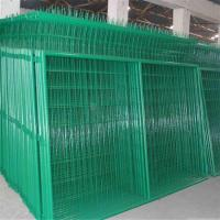 China PVC Coated V Pressed Welded Wire Mesh Fence , Panel in 6 Gauge on sale