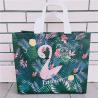 Buy cheap Scrub Flamingo Clothing Store Bag Plastic Women's Non-woven Portable Plastic Bag from wholesalers