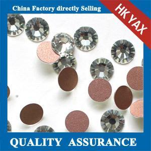 China New Coming! Cheap stick on rhinestone stone,stick on rhinestone,wholesale flat back rhinestone stick on on sale
