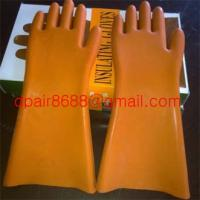 Quality high tension insulating gloves for sale