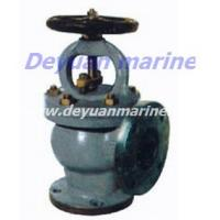 Quality Marine Cast Steel Flanged Angle Stop Valves for sale