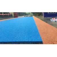 Buy cheap Colored Rubber Running Track Surface , EPDM Iaaf Approved Track Surfaces from wholesalers