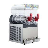Quality 300W 15L×2 Ice Slush Machine With Double Tank For Making Beverage , 110V - 115V for sale