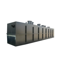 China Household Water Purification Integrated Sewage Treatment Equipment 14m2 3m3/H on sale
