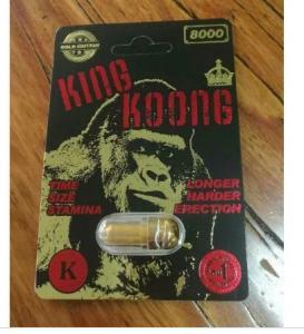 Buy cheap King koong 8000 Sex Enhancement strong sex medicine for men long time sex product