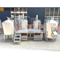 China 2000 Liter Beer Brewing System , Stainless Steel Beer Making System PLC Avaiable on sale