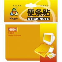 Cheap Neon orange Self adhesive Sticky Notes , customized sticky pads reusable wholesale
