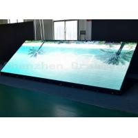 Quality Iron Cabinet Outdoor LED Signs High Resolution 6mm Pixel Pitch With Front Maintenance for sale