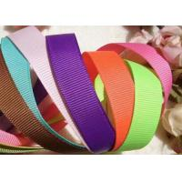 China 0.6-7.5cm Custom Printed Grosgrain Ribbon By The Yard Provide 0 Risk Policy on sale