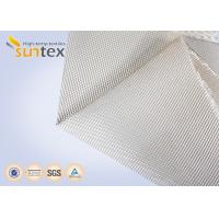 China 1000C High Temperature Resistant High Silica Glass Fiber Fabric Fire Barrier Cloth on sale
