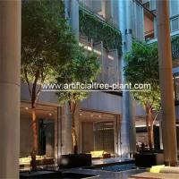 4m Green Artificial Ficus Tree For Shopping Center Decoration Anti - Ultraviolet for sale