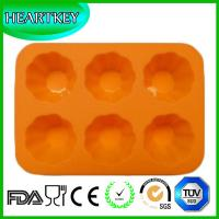 China Silicone Muffin Pan Tray Jelly Cupcake Candy Mold Chocolate Mold 6 Flowers on sale