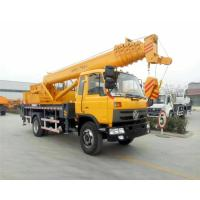 Buy cheap DFAC Mobile Hydraulic Vehicle Mounted Crane With 16 - 20 Ton Lifting Capacity from wholesalers