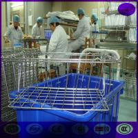 China Stainless steel sterilizing basket and  parts basket with lid on sale