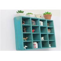 Quality Eco - Friendly Indoor Storage Cabinets Wall Hanging Cube Storage Shelf Units for sale