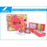 China Nut Packaging Floral Flat Pack Cardboard Boxes Durable Custom Made Size on sale