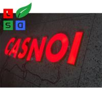 Buy cheap Waterproof Illuminated Letters Stainless Structure Red Light Up Letters from wholesalers