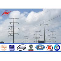 Quality 11M 300daN Steel Utility Pole Gr65 Material for 69KV Power Distribution for sale