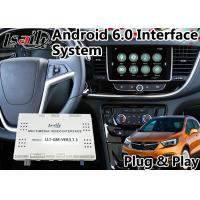 Quality Android 6.0 Multimedia Video Interface for Opel Mokka with Intellilink System 2016-2018 , car gps navigation for sale