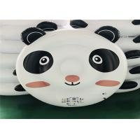 Quality Black / White Panda Inflatable Water Floats Pool Toys For Kids 200*180*40cm for sale