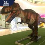 Quality Huge outdoor equippement children park animatronic dinosaur model for sale