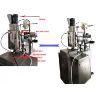 Buy Automatic Sachet Liquid and Paste or Cream Packing Machine with Two filter on at wholesale prices