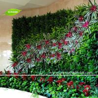 China GNW GLW059 Wall Hanging Artificial Flowers Green Plants Indoor decoration on sale