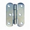 Buy cheap Symmetrical hinge/iron hinge, made of steel, coated finished from wholesalers