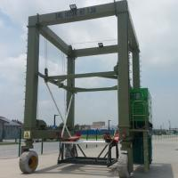 Quality Hydraulic Boat Lifting Rubber Tire Ship Gantry Crane ISO / CE / SGS Certification for sale