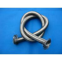 Quality Formable PTFE Teflon Tube Wire Braided , PTFE Teflon Braided Hose for sale