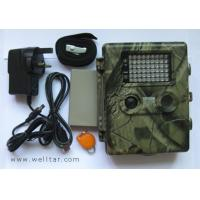 Quality 10mp trail scouting camera with 54 LED and laser point light _trail camrechargeable lithium battery for sale