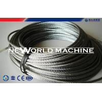 Quality Hoist Parts Stainless Dteel Eire Rope 316 Model / Galvanized Steel Wire Rope for sale