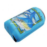 Quality Insulated 2.5mm Neoprene Can Cooler , SBR Collapsible Beverage Can Cooler Holder for sale
