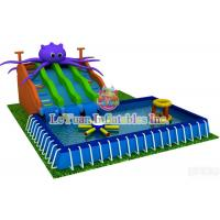 Quality Summer Season Metal Frame Pools For Outdoor Activity / Swimming / Water Fun for sale