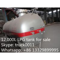 4.5 metric ton cooking gas storage tank for sale,  factory price CLW brand liquefied petroleum gas storage tank for sale