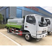 Quality Dongfeng 5000liters Water Bowser Truck Sprinkler Spraying Water Delivery Tank Truck for sale