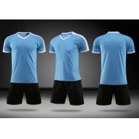Buy New fashion breathable dri fit sublimation custom design soccer jersey football at wholesale prices