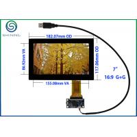 "Quality USB 7"" Capacitive Touch Screen ITO Glass Cover Lens Multi-Touch Panel For Intelligent Appliances for sale"