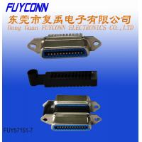 Quality 24 Pin Centronic IDC Crimping Connector with Wire Cover for sale