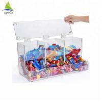 Quality Transparent Acrylic Candy Containers House Shape Mini Acrylic Candy Bins for sale