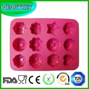 China 12 Shapes Silicone Cake Baking Mold Chocolate Ice Cube Tray DIY  Cake Pan Mold on sale
