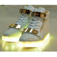Quality Breathable Blue LED Light up Sneakers Led Fashion Shoes Wear - Resistant for sale