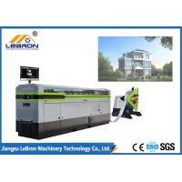 Quality White Color Light Gauge Steel Framing Machines , Prefabricated House Metal Framing Machine for sale